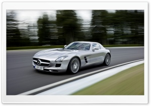 Mercedes Benz SLS AMG Speed HD Wide Wallpaper for Widescreen