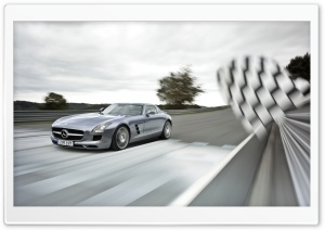 Mercedes-Benz SLS AMG Supercar HD Wide Wallpaper for Widescreen