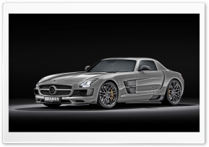 Mercedes Benz SLS Brabus HD Wide Wallpaper for 4K UHD Widescreen desktop & smartphone