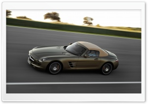 Mercedes Benz SLS Coupe HD Wide Wallpaper for Widescreen