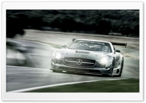 Mercedes Benz SLS GT3 HD Wide Wallpaper for Widescreen
