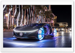 Mercedes Benz VISION AVTR 2020 Electric Car Ultra HD Wallpaper for 4K UHD Widescreen desktop, tablet & smartphone