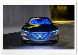 Mercedes Benz Vision EQS Car Ultra HD Wallpaper for 4K UHD Widescreen desktop, tablet & smartphone