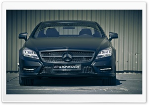 Mercedes CLS Black Edition Kicherer Tuning HD Wide Wallpaper for Widescreen