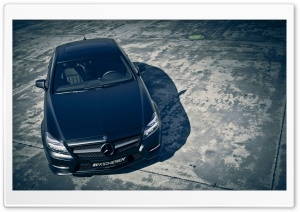 Mercedes CLS Black Edition Tuning Kicherer HD Wide Wallpaper for Widescreen