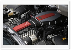 Mercedes Engine HD Wide Wallpaper for Widescreen