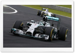Mercedes F1 HD Wide Wallpaper for Widescreen