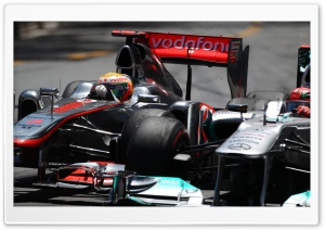 Mercedes F1 Cars HD Wide Wallpaper for Widescreen