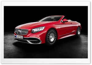 Mercedes Maybach S650 cabriolet 2017 HD Wide Wallpaper for 4K UHD Widescreen desktop & smartphone