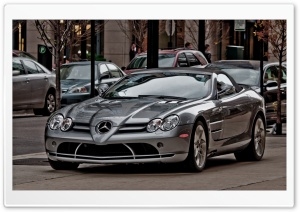 Mercedes Mclaren SLR HD Wide Wallpaper for 4K UHD Widescreen desktop & smartphone