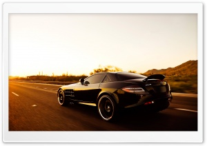 Mercedes Mclaren SLR Speed HD Wide Wallpaper for Widescreen