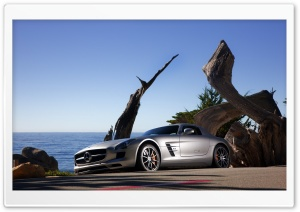 Mercedes SLS AMG HD Wide Wallpaper for 4K UHD Widescreen desktop & smartphone