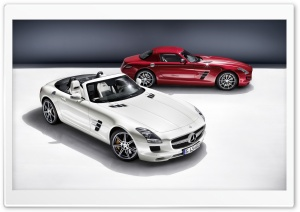 Mercedes SLS AMG Convertible HD Wide Wallpaper for Widescreen