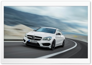 Mercedez-Benz CLA45 AMG - 2014 HD Wide Wallpaper for 4K UHD Widescreen desktop & smartphone