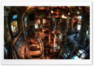 Mercer Museum HD Wide Wallpaper for Widescreen