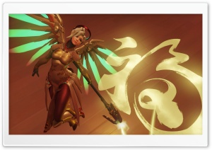 Mercy Year of the Rooster HD Wide Wallpaper for Widescreen