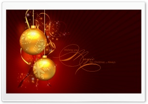 Merry Christmas 19 HD Wide Wallpaper for Widescreen