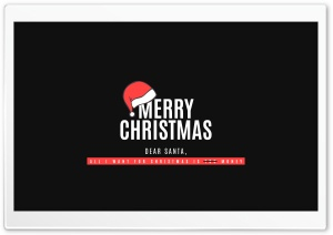 Merry Christmas Ultra HD Wallpaper for 4K UHD Widescreen desktop, tablet & smartphone