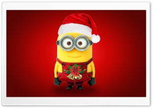 Merry Christmas Minions HD Wide Wallpaper for Widescreen