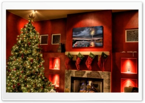 Merry HDR Christmas HD Wide Wallpaper for Widescreen