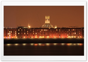 Mersey Lights Ultra HD Wallpaper for 4K UHD Widescreen desktop, tablet & smartphone