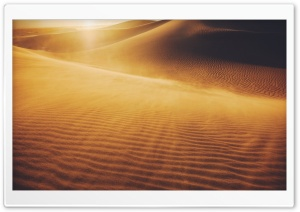 Mesquite Flat Sand Dunes, Death Valley National Park, California HD Wide Wallpaper for Widescreen