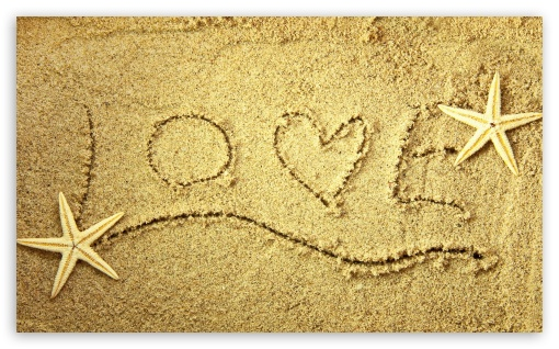 Message in the Sand HD wallpaper for Wide 5:3 Widescreen WGA ; HD 16:9 High Definition WQHD QWXGA 1080p 900p 720p QHD nHD ; Mobile 5:3 16:9 - WGA WQHD QWXGA 1080p 900p 720p QHD nHD ;