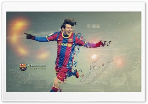 Messi Barcelona HD Wide Wallpaper for Widescreen