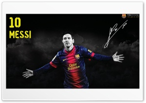Messi Wallapaper Barcelona HD Wide Wallpaper for Widescreen