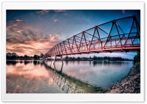 Metal Bridge HD Wide Wallpaper for Widescreen