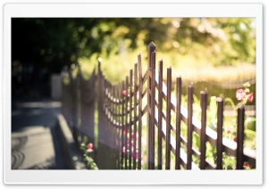 Metal Fence HD Wide Wallpaper for Widescreen