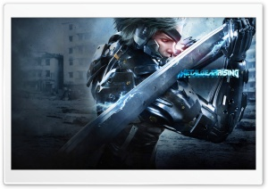 Metal Gear Rising - Revengeance HD Wide Wallpaper for 4K UHD Widescreen desktop & smartphone