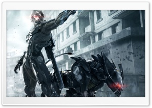 Metal Gear Rising- Revengeance HD Wide Wallpaper for Widescreen