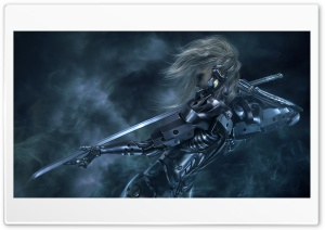Metal Gear Rising Revengeance HD Wide Wallpaper for Widescreen