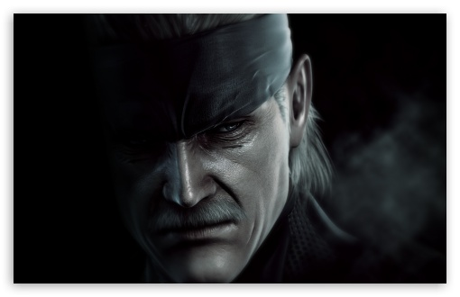 Metal Gear Solid 4 Snake 4K HD Desktop Wallpaper For 4K