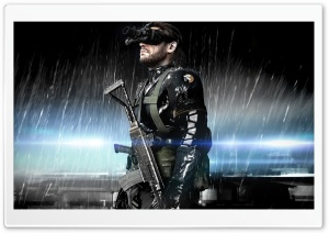 Metal Gear Solid Ground Zeroes HD Wide Wallpaper for 4K UHD Widescreen desktop & smartphone