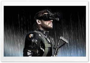 Metal Gear Solid Ground Zeroes Video Game HD Wide Wallpaper for Widescreen