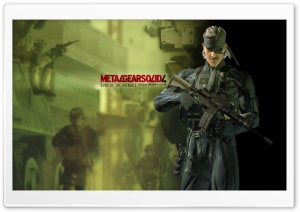 Metal Gear Solid Guns Of The Patriots HD Wide Wallpaper for Widescreen
