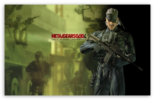 Metal Gear Solid Guns Of The Patriots HD wallpaper for Wide 16:10 5:3 Widescreen WHXGA WQXGA WUXGA WXGA WGA ; HD 16:9 High Definition WQHD QWXGA 1080p 900p 720p QHD nHD ; Standard 3:2 Fullscreen DVGA HVGA HQVGA devices ( Apple PowerBook G4 iPhone 4 3G 3GS iPod Touch ) ; Mobile 5:3 3:2 16:9 - WGA DVGA HVGA HQVGA devices ( Apple PowerBook G4 iPhone 4 3G 3GS iPod Touch ) WQHD QWXGA 1080p 900p 720p QHD nHD ;