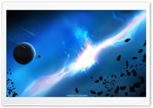 Meteorites Shower HD Wide Wallpaper for Widescreen