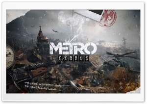 Metro Exodus 2018 HD Wide Wallpaper for 4K UHD Widescreen desktop & smartphone