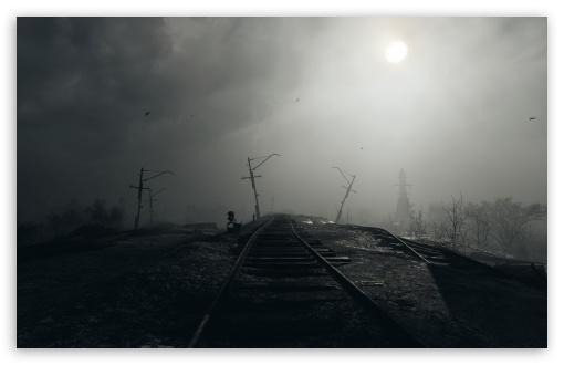 Download Metro Exodus Rails HD Wallpaper