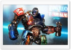 Metro in Real Steel HD Wide Wallpaper for Widescreen