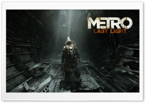 Metro Last Light HD Wide Wallpaper for Widescreen