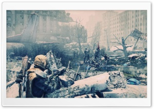 Metro Last Light Art HD Wide Wallpaper for Widescreen