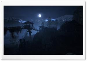 Metro Moon HD Wide Wallpaper for 4K UHD Widescreen desktop & smartphone