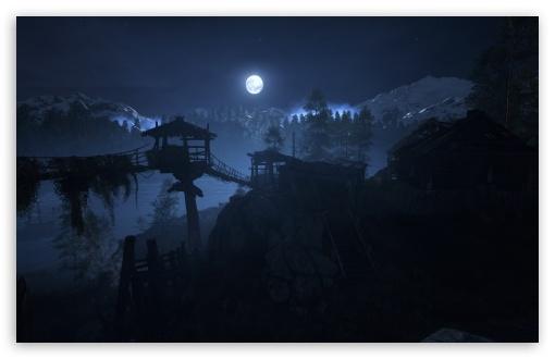 Download Metro Moon HD Wallpaper