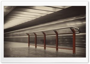 Metro Station HD Wide Wallpaper for Widescreen