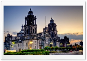 Mexico City Cathedral HD Wide Wallpaper for 4K UHD Widescreen desktop & smartphone