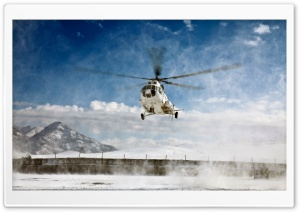 Mi-8 Helicopter HD Wide Wallpaper for Widescreen